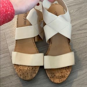 Cathy Jean wedges, size 10